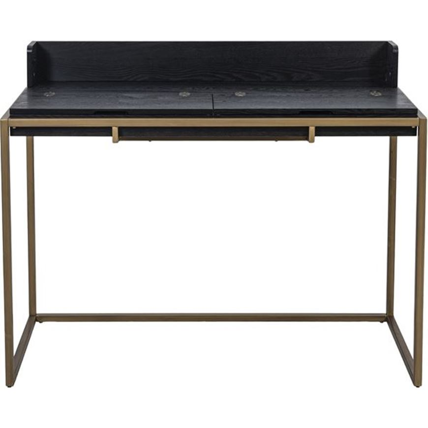 MASO desk 116x56 black/gold