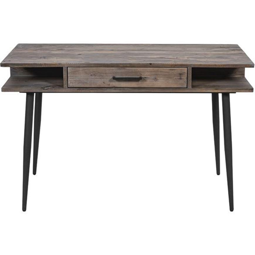 JENS desk 120x56 grey/black
