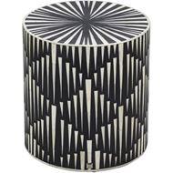 RAIN stool d36cm black