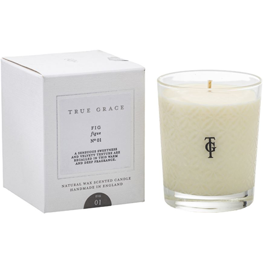 Picture of FIG candle small clear