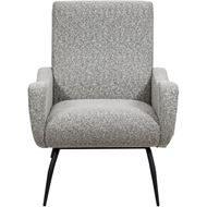 WAVE armchair grey