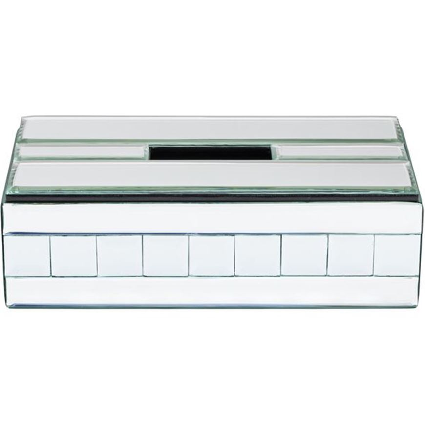 QUBE tissue box 14x26 clear