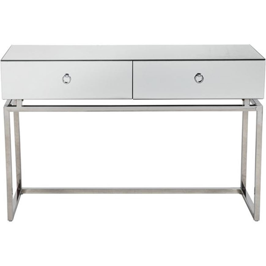 BLOOM console 120x42 clear/silver