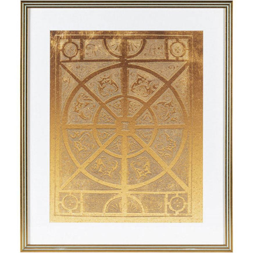 Picture of GOLDEN Life I print 54x64 gold